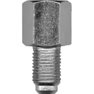 Bremsleitung gebördelt 2 Bremsnippel Bördel-F 10X1 Länge 390mm