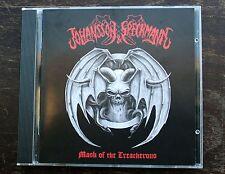 Johansson & Speckmann CD Mask of the Treacherous DEATH METAL 2015 Netherlands