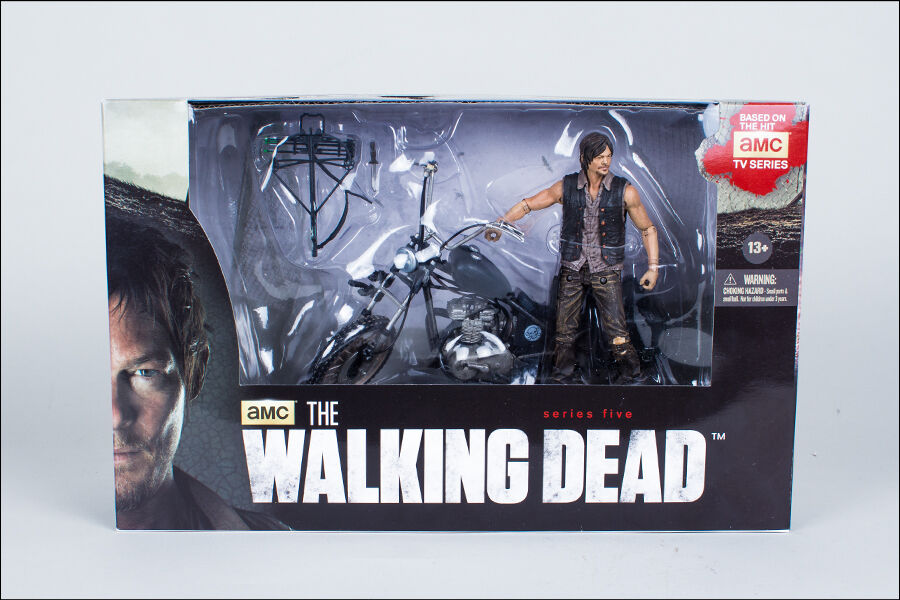 DARYL DIXON WITH CHOPPER THE WALKING DEAD TV SERIES 5, 5