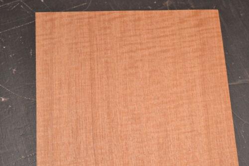 Makore Raw Wood Veneer Sheets 10 x 41 inches 1//42nd thick               r7708-34