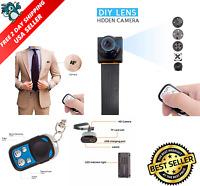 1080 Hd Screw Spy Hidden Video Micro Nanny Pinhole Camera Dvr Recorder Cam