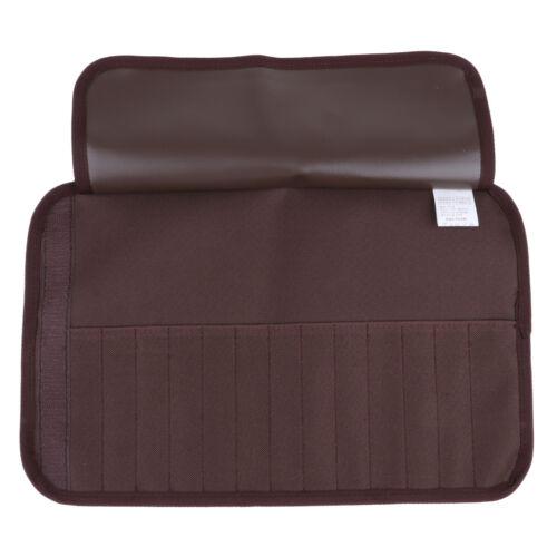 Tragbar Reise Bestecktaschen Besteckbeutel Besteckhalter aus Polyester für
