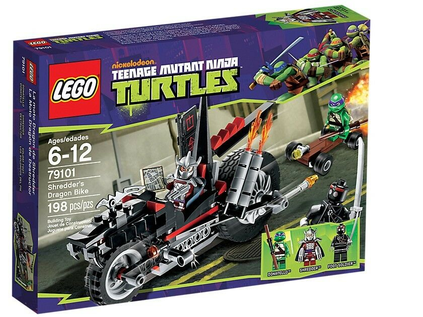 LEGO TMNT 79101 ShROTders Dragon Turbo Bike Teenage Mutant Ninja Turtles