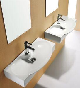 REA lavabo ceraMICA BIANCO ERIN -lavandino da appoggio-da incasso ...