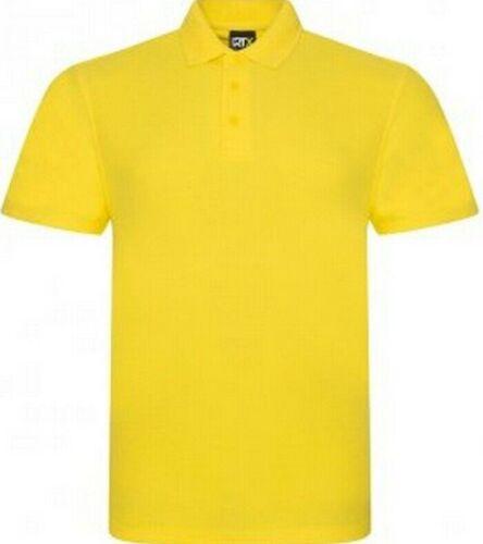 PRO RTX Da Uomo Manica Corta Casual Work Wear Polo in cotone e poliestere piquet maglia Top S-7XL