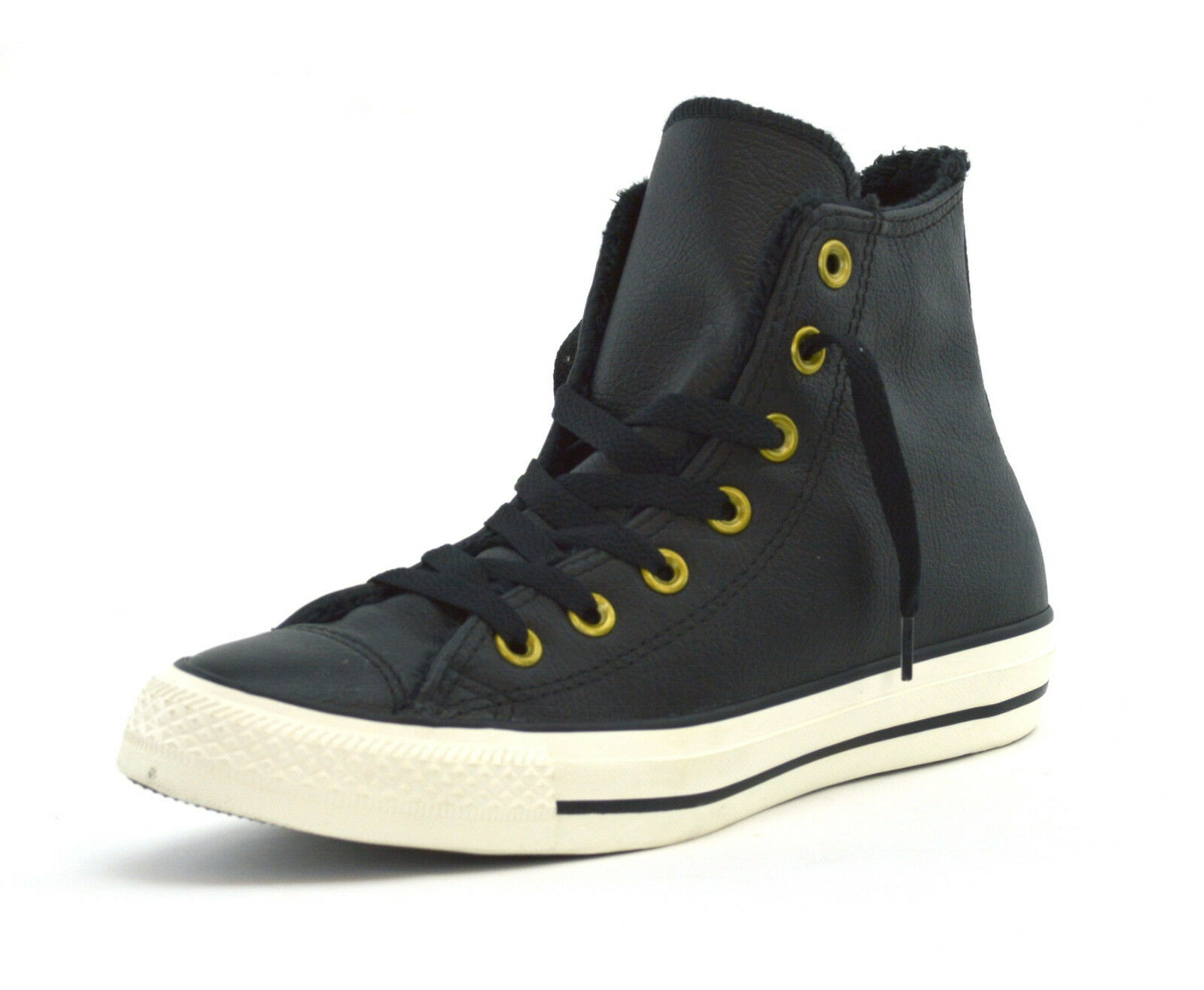 312edd01e8f30a Converse Chuck Taylor All Star Hi Black Women Leather High-top ...