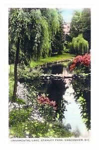 1920-039-s-Ornamental-Lake-Stanley-Park-Vancouver-British-Columbia-Canada-Postcard