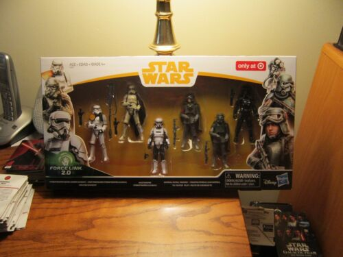 "STAR WARS /""TARGET//SOLO/"" 2018 IMP. TROOP 6-PACK /""MUD TR//HAN /""Mimban/"" !!!"