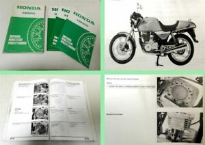 Werkstatthandbuch-Honda-XBR500-XBR500S-Shop-Manual-Reparaturanleitung-1985-1988