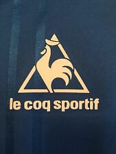 Le Coq Sportif logo In Blue Or White For Everton 1983 To 1986 Shirts