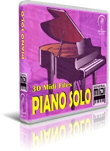 PIANO-SOLO-30-Midi-Files-Pendrive-USB-Escucha-Listen-Demos-General-Midi