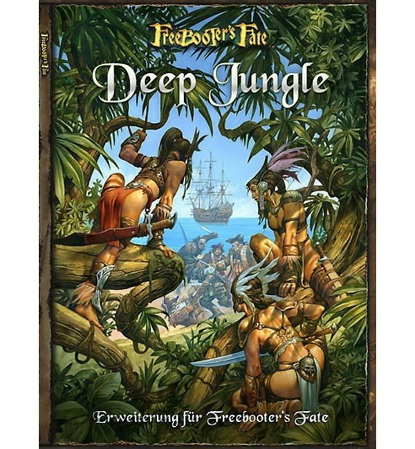 Freebooter's Fate Extension Deep Jungle (German) Freebooter Miniatures FF004