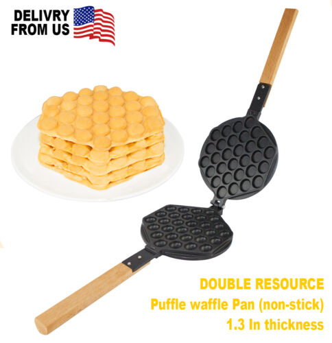 MOLD QQ EGG BUBBLE Non-Stick Pan for PUFFLE WAFFLE Maker Professional FY-6