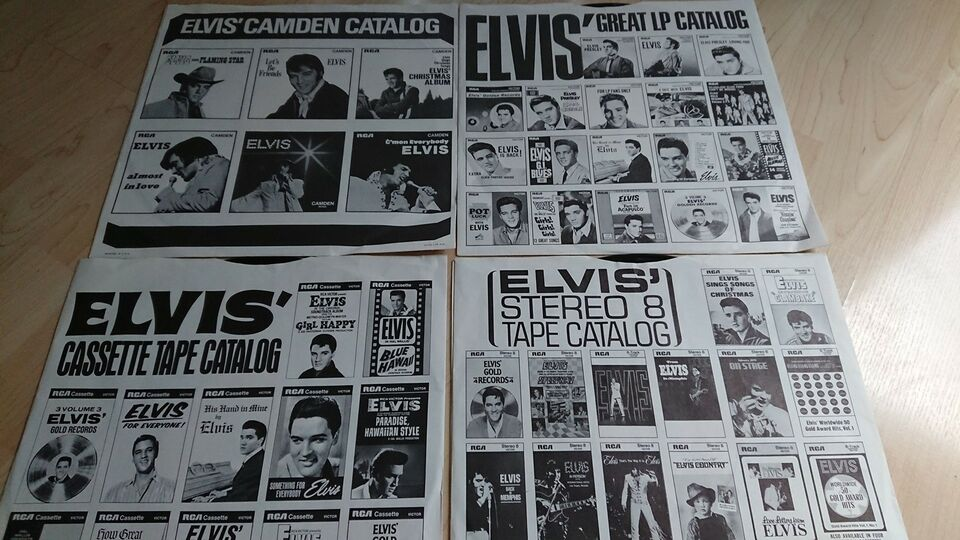 LP, Elvis, Elvis the other sides