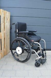 Alber-Twion-M24-mit-Rollstuhl-TiLITE-TR-titanium-SUPER-ZUSTAND