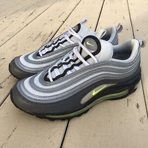 Details about Nike Air Max 97 Neon Green Volt Grey Pure Platinum 921733 003 Womens Sz 8.5