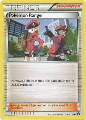 2016 - NM Uncommon Pokemon Card Pokemon Ranger 104//114 Steam Siege Set