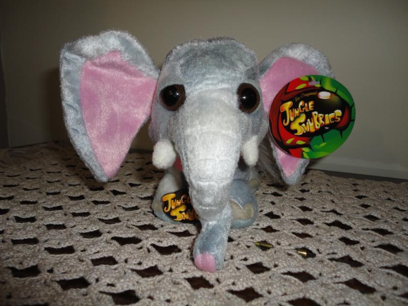 Original - dschungel snubbies elefanten plsch