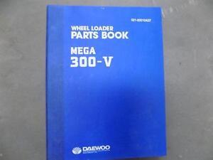 (d) Daewoo Mega 300-v Parts Book-afficher Le Titre D'origine B7vr2ubr-07225006-818883715