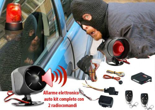 ANTIFURTO UNIVERSALE PER AUTO FURGONE 12V CON BLOCCO INIEZIONE SENSORE MOVIMENTO
