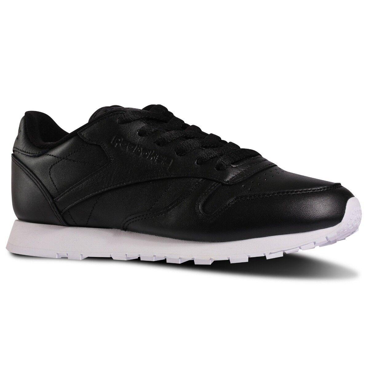 Zapatos promocionales para hombres y mujeres Reebok Clásico Mujer Running Zapatillas número 5 Blanco y negro NUEVO