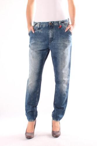 pantalon Femmes Replay wx8585 604 343 009 Bleu Denim