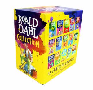 Roald Dahl Collection 15 Books Boxed Set (Paperback, 2016)