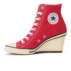 converse all wedge hi high heel sneakers