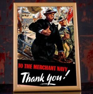 WW2 British Military Collectibles Wall Decor WWII Propaganda Poster Replica