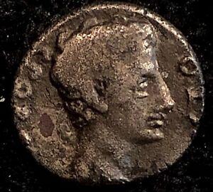 Augustus-17-16BC-Ancient-Roman-Silver-Denarius-Mars-w-Vexilium-amp-Parazonium-2-8g