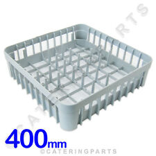 400 x 400 DISH-WASHER GLASS-WASHER400MM SQUARE PLATE RACK BASKETS IME OMNIWASH