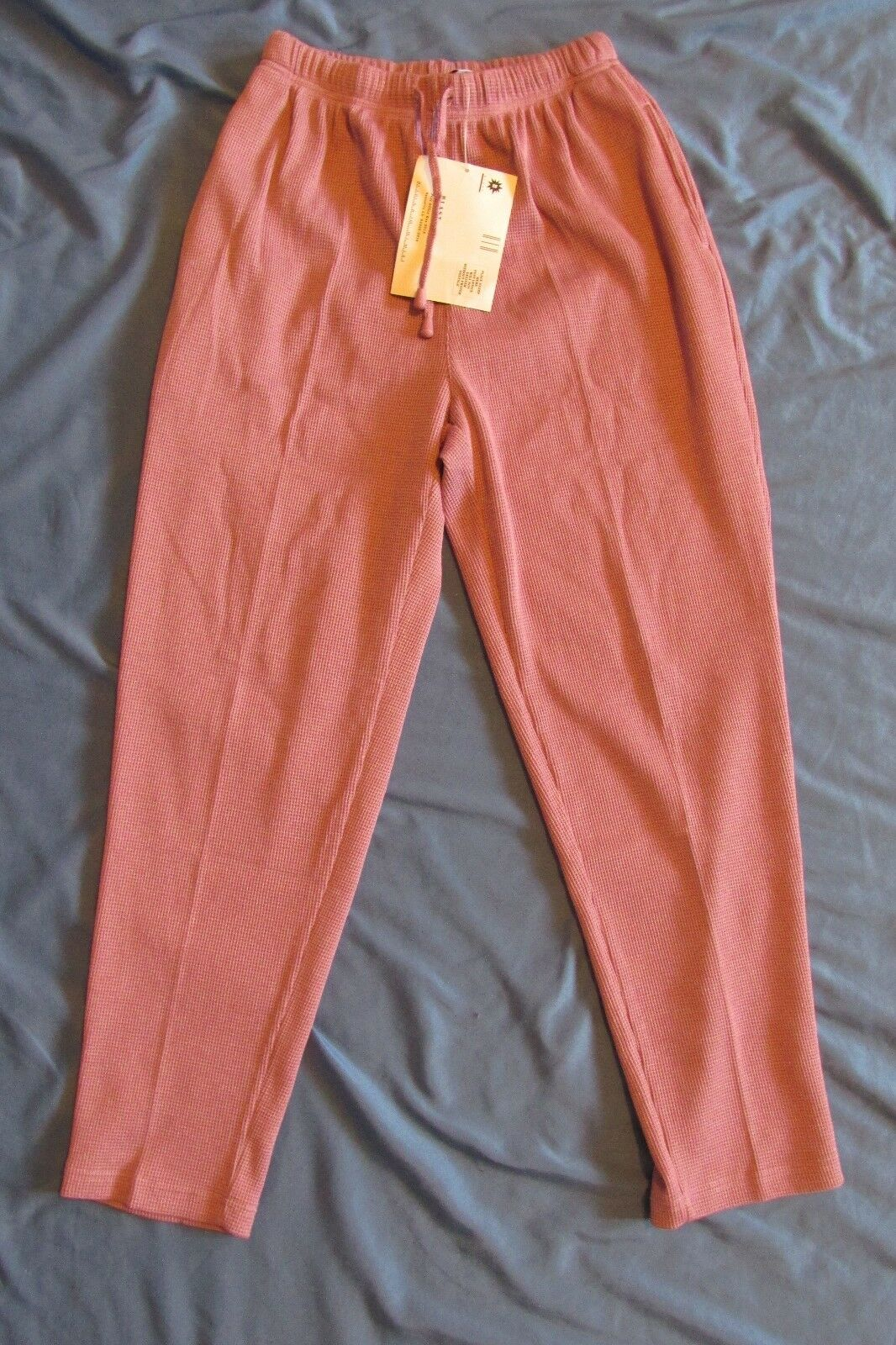 New Women's Blast Petites Lavandar Purple Thermal Casual Pants Petite Medium PM