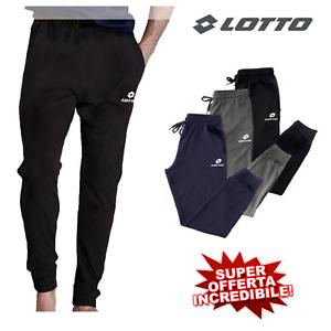 Pantaloni-Tuta-Uomo-Primaverili-Estivi-Cotone-Leggero-Slim-Sportivo-Fitness
