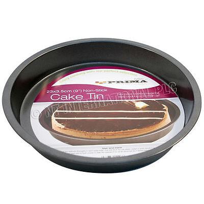 23 Cm Forma Rotonda Vassoio Da Forno Torta Antiaderente Cucina Tin Pan Da Forno Piatto Piatti Da Forno-
