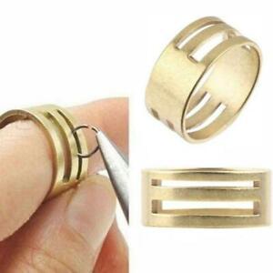 DIY-Handmade-Brass-Jump-Ring-Open-Close-Tool-Jewelry-Making-Finding-Helper