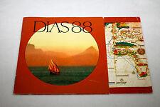 DIAS 88  Commemorative Coins 1988 NEW 4 Booklet Bartolomeu Vintage Collector