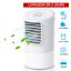 Climatiseur Mobile Silencieux 4 en 1 Portable Refroidisseur Purificateur d/'Air