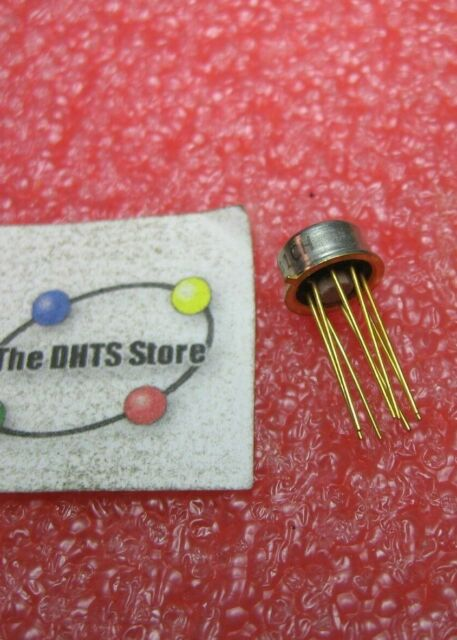 uA741 Fairchild OpAmp IC DIP 8-Pin Plastic 741 NOS Qty 5