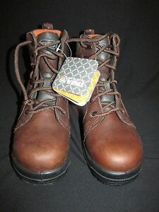 Image is loading Rockport-Works-Waterproof-Composite-Toe-EH-Work-Boot- e3910a446