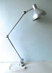 Grande Lampe Jumo Gs1 En Metal Chrome A Balancier Des Annees 50 60