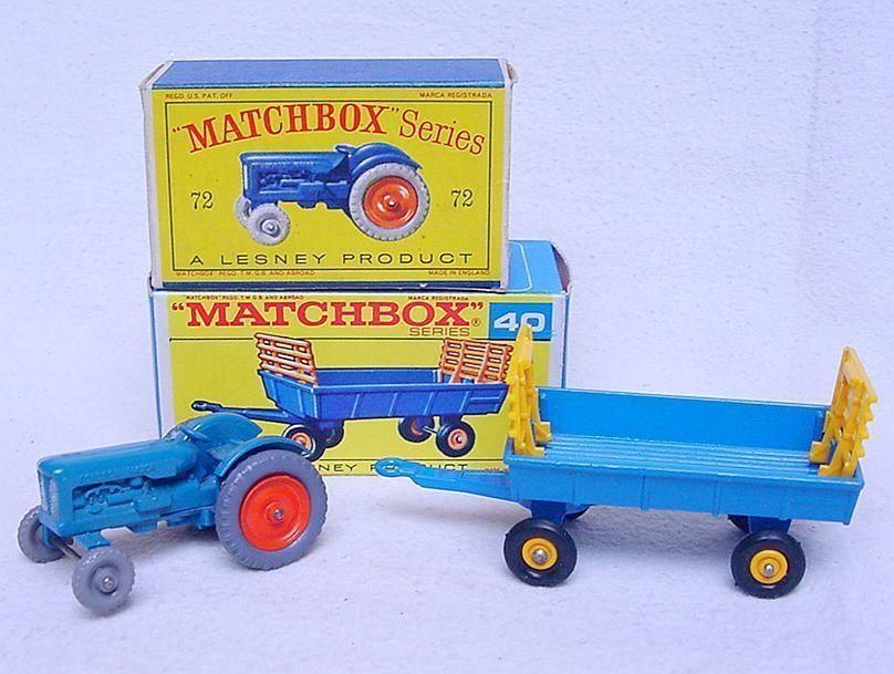 A la venta con descuento del 70%. Matchbox Lesney Fordson Major Tractor C-10 azul plata Grill     72 Mib `59 Fabuloso  diseño simple y generoso