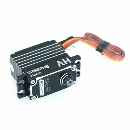 GDW BLS893 Metal Gear Brushless Digital Servo For RC Heli Car Airpla Boat HOT