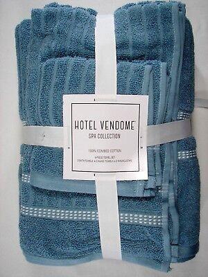 Hotel Vendome Spa Collection 6 Piece 100 Combed Cotton