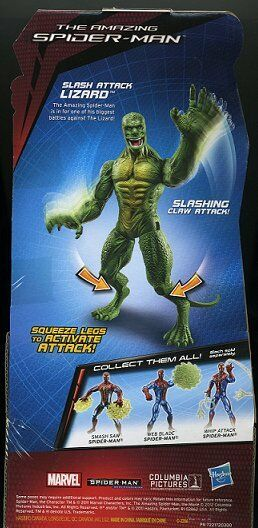 THE THE THE LIZARD ( 6 ) SLASHING CLAW ( 2011 ) MARVEL WEB BATTLERS SERIES ACTION FIGURE d1f271