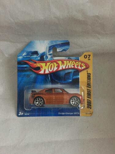 Spielzeugautos HOT WHEELS DODGE CHARGER SRT8 007/156 NEU NEW OVP SHORT CARD