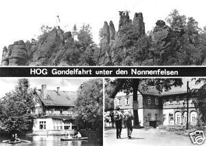 AK, Kurort Jonsdorf, HOG Gondelfahrt u.d. Nonnenfelsen