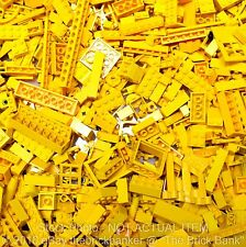 LEGO 1/4lb YELLOW Bulk Pound Lot-SANITIZED-PAIRS MATCHED-Brick Piece Part Random