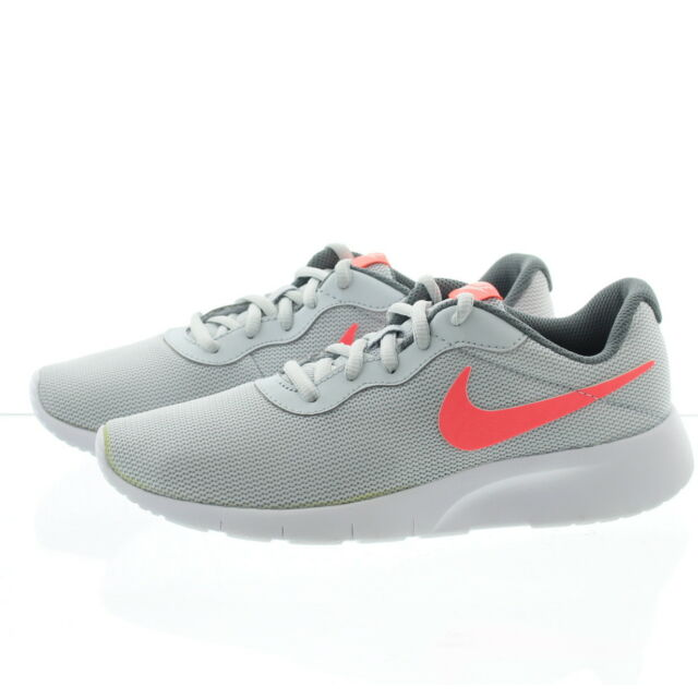 best loved c72a5 a7d3a Nike Tanjun Big Kids 818384-002 Pure Platinum Lava Glow Athletic ...