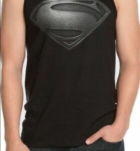 New Men/'s Superman DC Comics Super Hero Man Of Steel Tie Dye Tye Tank Top Shirt