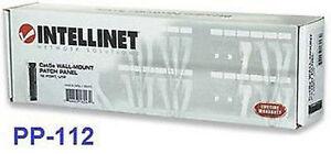 12-Port-UTP-CAT5e-Wall-Mount-Patch-Panel-Intellinet